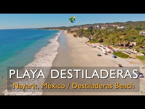 Conoce Playa Destiladeras, Nayarit [Suelo y Drone] Visit Destiladeras Beach north of Puerto Vallarta
