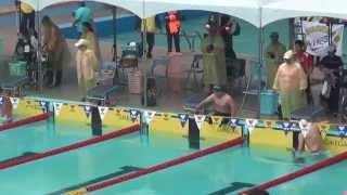 103年全國身心障礙國民運動會游泳比賽身障男子200M混合式SM7