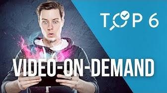 TOP 6: Die besten Video-on-Demand Dienste im Vergleich