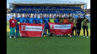 CowBit VS The Stars Save The Children 2018 Charity football Game thumbnail