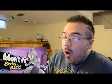 REACTION Mewtwo Strikes Back!    Nintendo Direct 4.1.2015