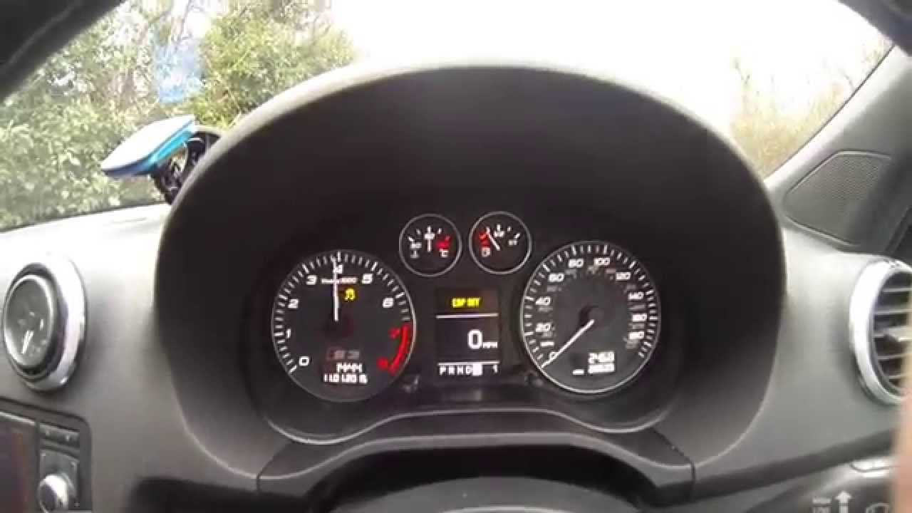 Audi S P APR Stage Damp Road YouTube - Audi s3 0 60