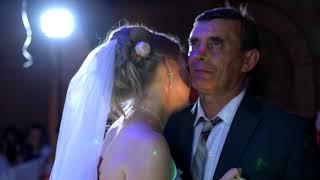 Танец дочки с отцом на свадьбе