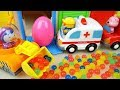 Orbeez surprise eggs and Poli mini car toys play