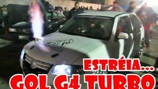 Primeira prova GOL TURBO + FT500 - Turbo Garage | Motor Point