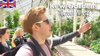 Kew Gardens London Travel Vlog! Dale Chihuly Exhibit