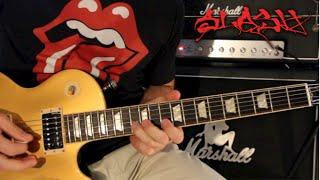 Slash Rock Guitar Lesson #7: Play Guitar Like Slash! *HD*