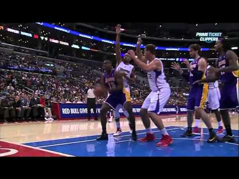 Blake Griffin Hard Foul on Metta World Peace