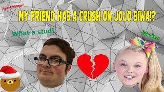 #smallYoutuber #Jojosiwa has a crush on JOJO SIWA!?!?