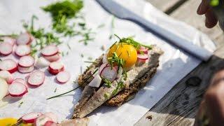 Sol Over Gudhjem: A Sunny Smokehouse Sandwich
