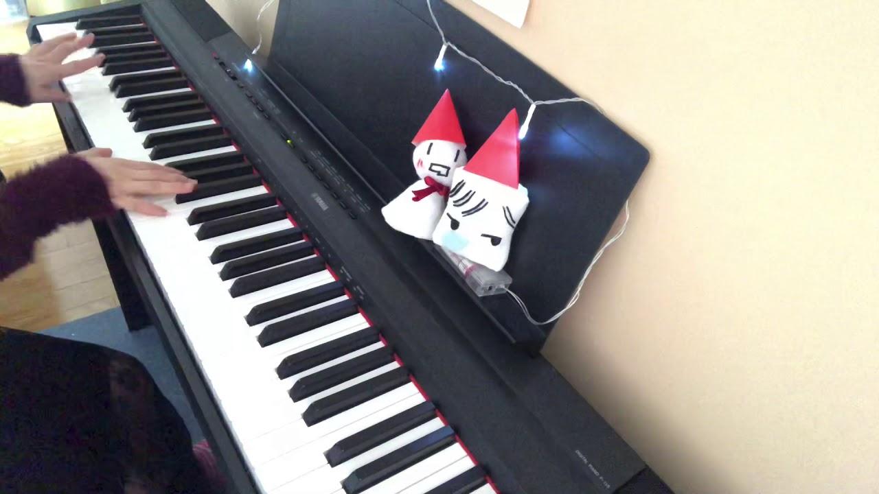 「ブラッククリスマス」After the Rain piano short ver.