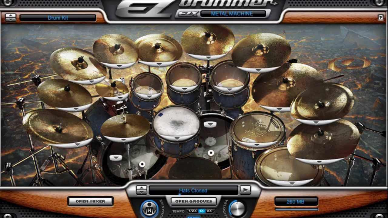 free download ezdrummer metal machine