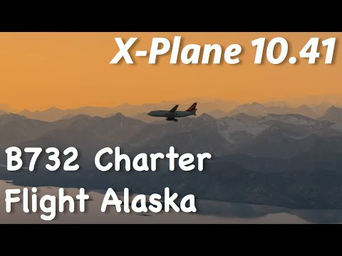 XP10 Golf Club Charter Flight in Alaska B732
