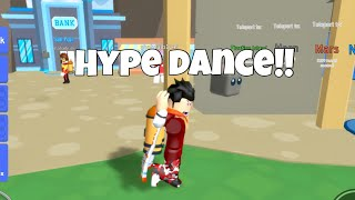 ROBLOX RELEASED THE HYPE EMOTE!!