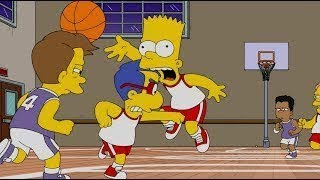 The Simpsons   Bart becomes a nba basketball player