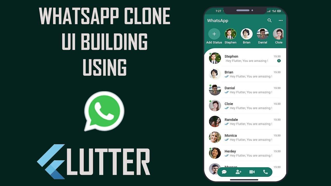 Building Flutter WhatsApp Clone UI from Scratch | Flutter | UI | Android Development