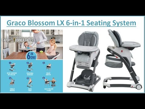 Graco Blossom High Chair: Unboxing and Setup