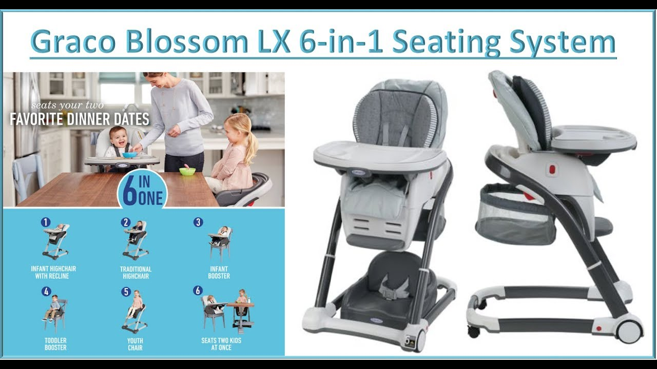graco high chair blossom office shop near me unboxing and setup youtube