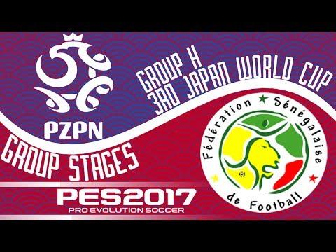 Poland vs. Senegal - 3rd Japan World Cup - PES2017 - 60fps