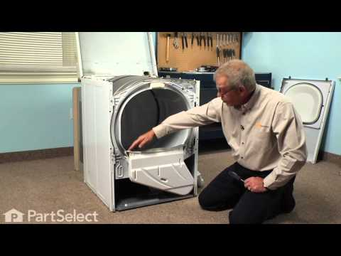 Dryer Repair- Replacing the Lint Duct Assembly (Whirlpool Part # 37001141)