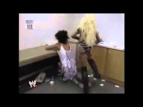 Luna Vachon destroys Sensational Sherri