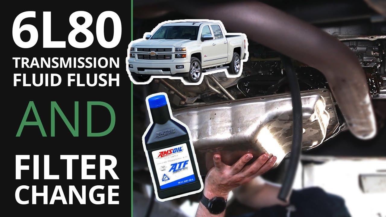 2010 silverado transmission fluid change