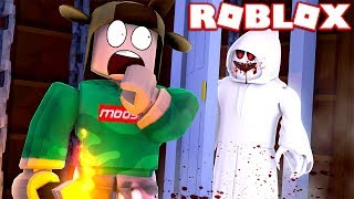 WHAT'S INSIDE THE HAUNTED CREEPY ROOM?! (Roblox Horror Roleplay)