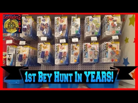 FIRST BEY HUNT IN YEARS!!! LOOKING FOR BEYBLADE BURST AT TOYS R US