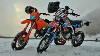 KTM 125 MOTARD VS FANTIC 125 MOTARD