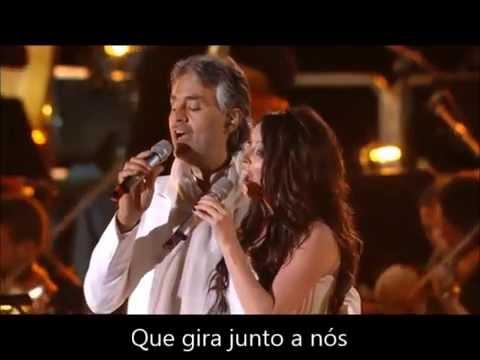 Canto Della Terra Andrea Bocelli E Sarah Brightman Legendado