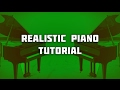 How To Make Realistic Piano Melodies (Piano Melody Tutorial)🎹🎼💪