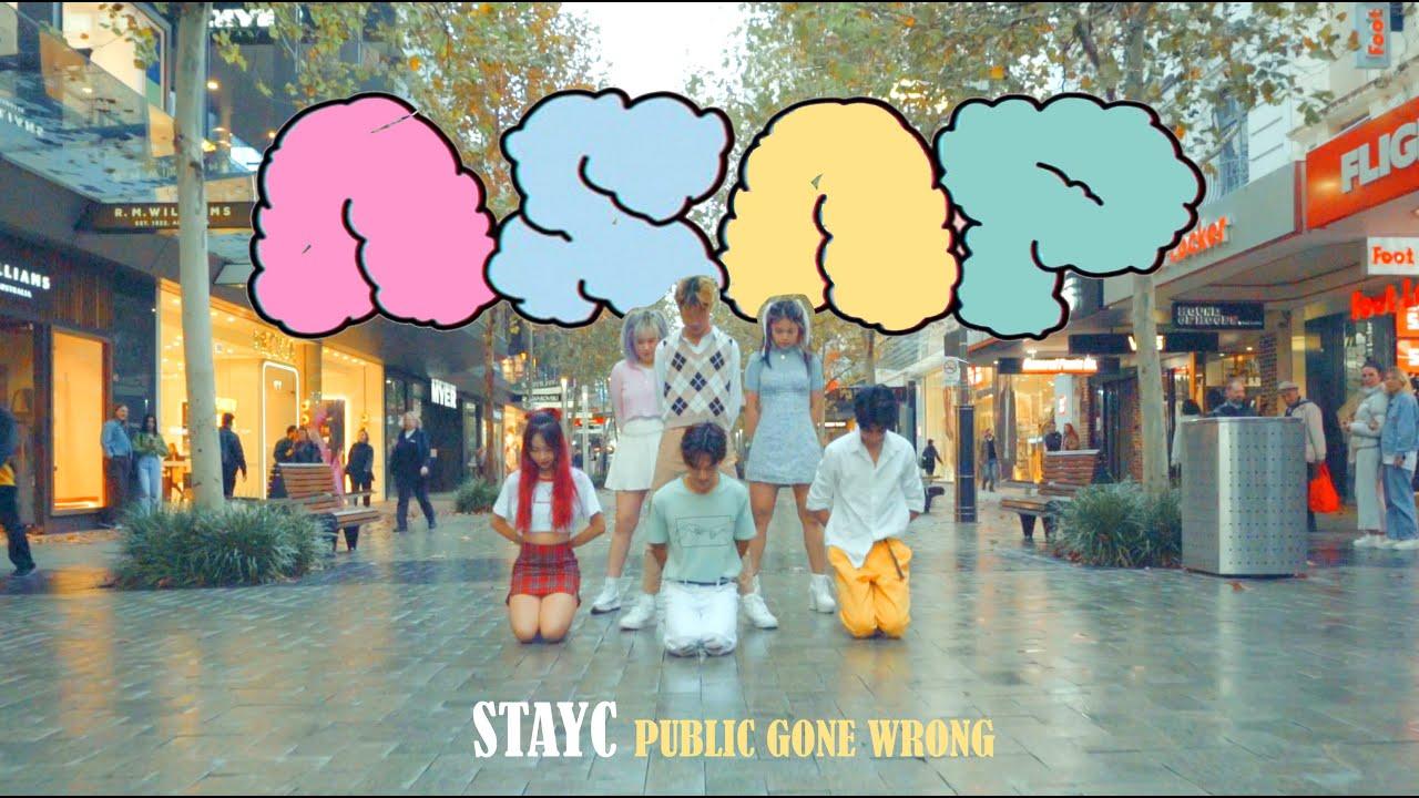 [KPOP IN PUBLIC CHALLENGE] STAYC (스테이씨) - ASAP Dance Cover 댄스커버 IN THE RAIN ONE TAKE | Australia