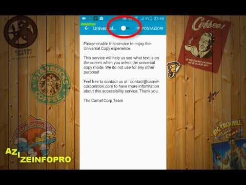 هذا التطبيق يتيح لك نسخ النصوص من اي تطبيق YOUTUBE او لعبة