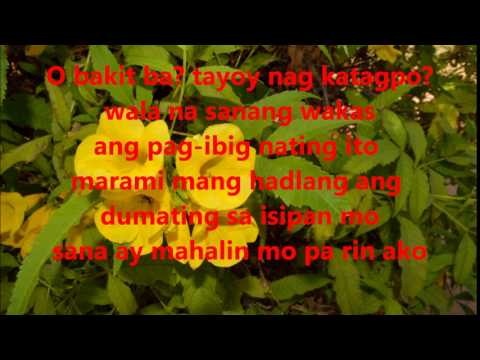 April Boys Sana ay mahalin mo rin ako (Lyrics)