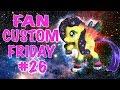 Fan Custom Friday #26    Custom OC Pony Giveaway #FCF by MandaPanda Toy Collector