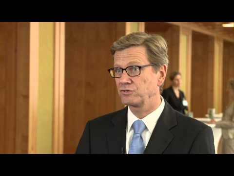 Interview mit Guido Westerwelle zum Wert Europas