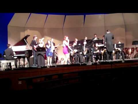 GDRHS Jazz Band (Grace McDermott solo)  What is Hip  (by Stephen Kupka)