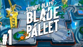Blade Ballet - #1 - Robot Sword Fights!! (4 Player Gameplay) [Sponsored]