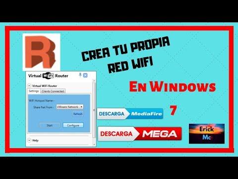 Descargar E Instalar  VIRTUAL ROUTER WIFI_ MEDIAFIRE Y MEGA En Español