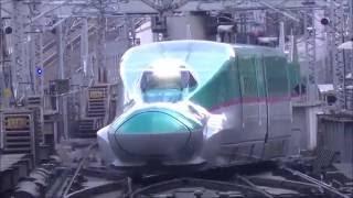 【過密運転する、朝の東京駅】JR東日本の新幹線ホーム