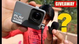 Giveaway!! Vlogging Camera + External Mic ? | Noise Play Vlog Edition | Best Vlog Camera ?