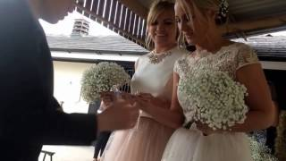 Bride and bridesmaid FREAK OUT at Wedding in Manchester