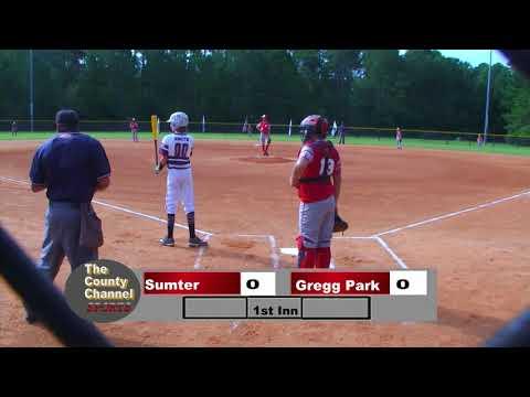 2019 Dixie Youth Ozone State Tournament Sumter Vs Gregg Park 071319