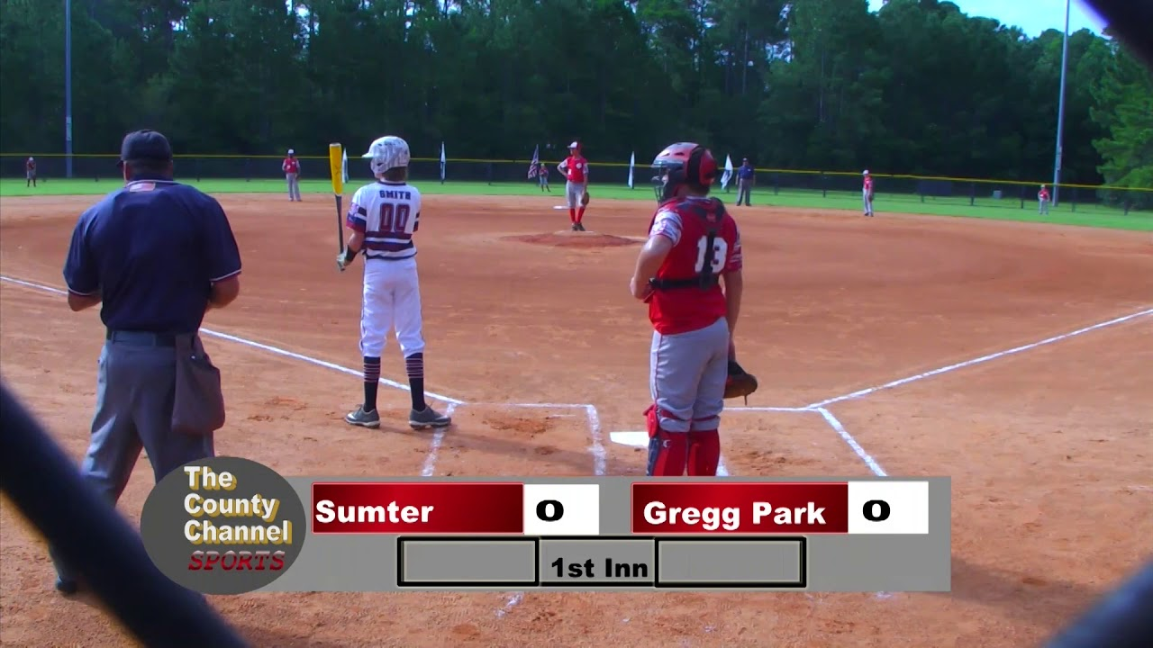 2019 Dixie Youth Ozone State Tournament Sumter Vs Gregg Park 071319