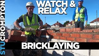 Bricklaying Video watch learn and relax