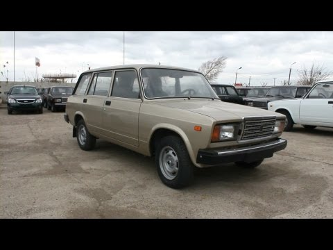 2012 LADA VAZ 2104. Start Up, Engine, and In Depth Tour.