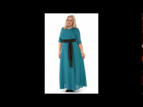 Вязание платье большие размеры