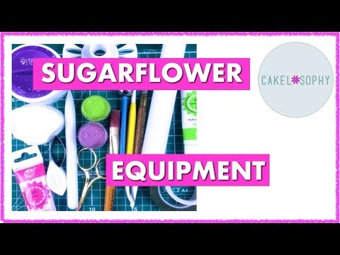 Sugar flowers: What do I really need to start making them?