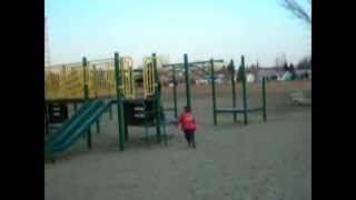 The full footage: Marc and André playing at the park