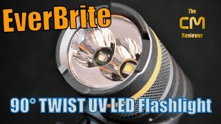 EverBrite 90° TWIST Two Color LED Flashlight - Taschenlampe - Hands-on (Deutsch, eng. hints)